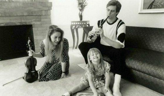 Джим Керри с первой женой Мелиссой