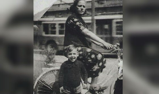 Адриано Челентано в детстве