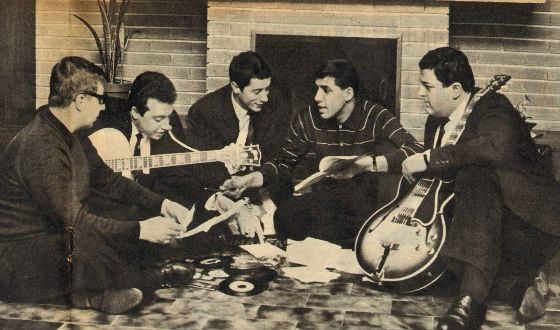 Адриано Челентано и группа Rock Boys