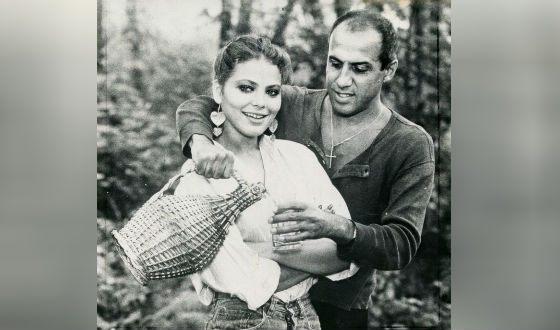 Адриано Челентано и Орнелла Мути на съемках «Укрощение строптивого»