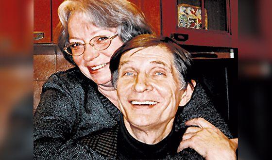 Игорь Ясулович с женой Натальей