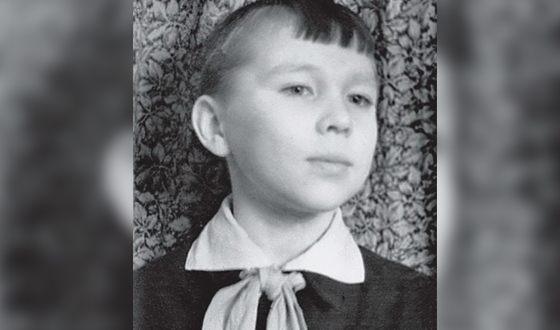 Вячеслав Зайцев в детстве