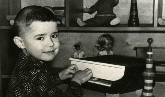 Евгений Осин в детстве