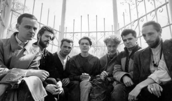 Евгений Осин в группе «Николай Коперник» (2-й справа)