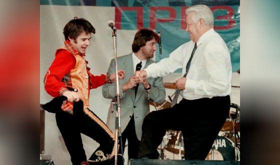 Среди поклонников творчества Осина был даже президент Борис Ельцин