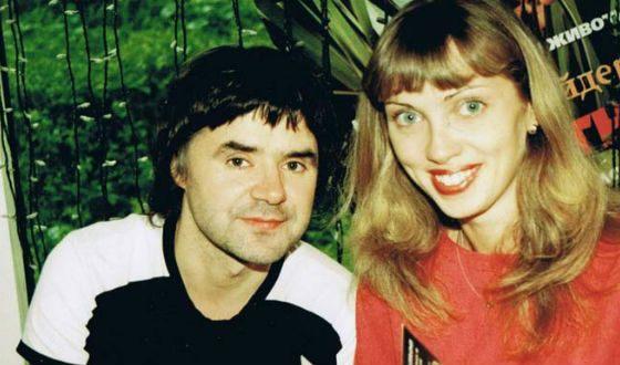 Евгений Осин с женой Натальей