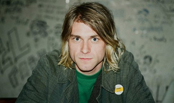 На фото: Курт Кобейн (Kurt Cobain)