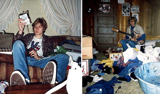 Курт Кобейн увлекся панк-роком в 14 лет