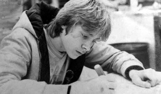 Курт Кобейн в молодости