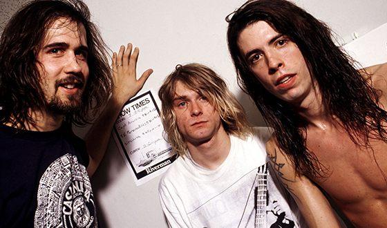 Курт Кобейн и его группа Nirvana