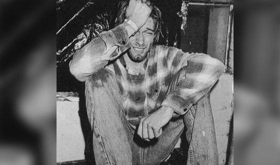 Курт Кобейн стал жертвой наркозависимости