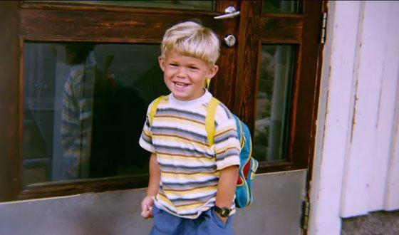 Магнус Карлсен в детстве
