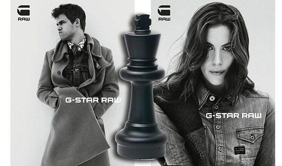 Магнус Карлсен в рекламе G-Star RAW