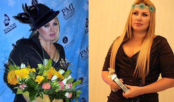 Ева Польна с музыкальными наградами