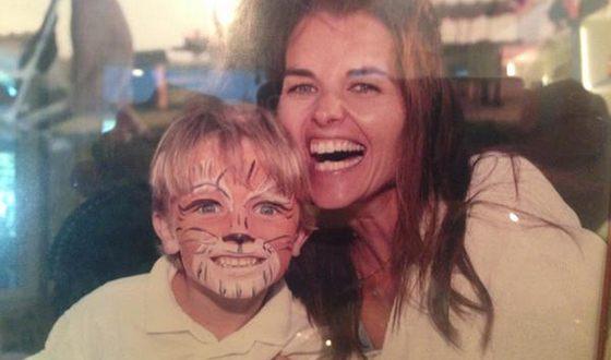 Патрик Шварценеггер и его мама