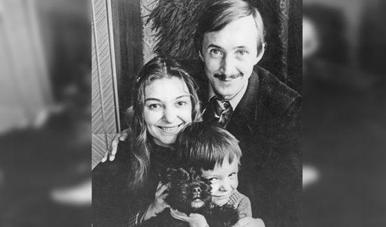 Наталья Бондарчук с мужем Николаем Бурляевым и сыном