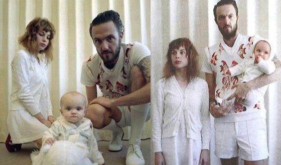 Йоланди Фиссер с дочерью и Ниндзя