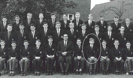 Алан Рикман в школьные годы