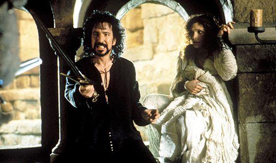Алан Рикман в картине «Робин Гуд: Принц воров»