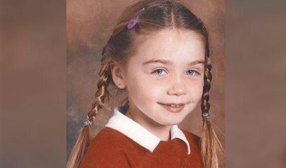 Джессика Барден в детстве