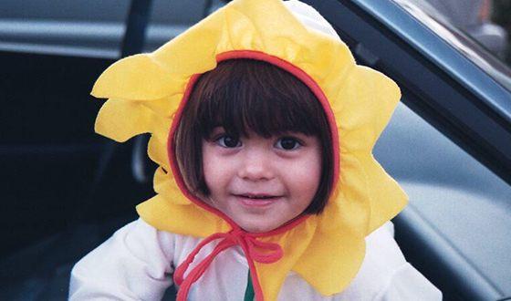 Камила Мендес в детстве