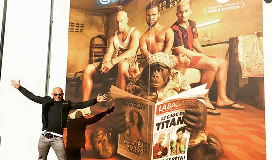 Франк Гастамбид на премьере «Мальчишника вПаттайе»
