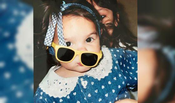 Брианна Хильдебранд в детстве