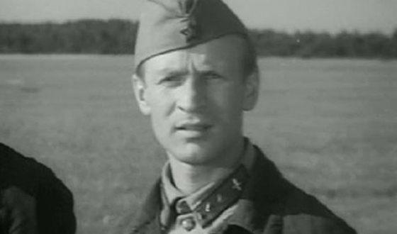 Дебютная роль в кино Ивана Краско («Балтийское небо», 1960)