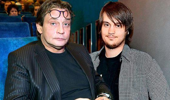 Александр Домогаров с сыном Александром