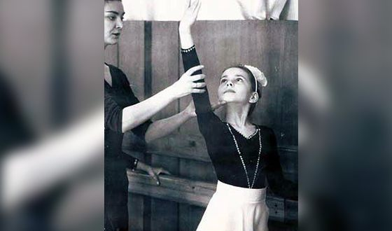 В детстве Екатерина Гусева занималась спортивной гимнастикой