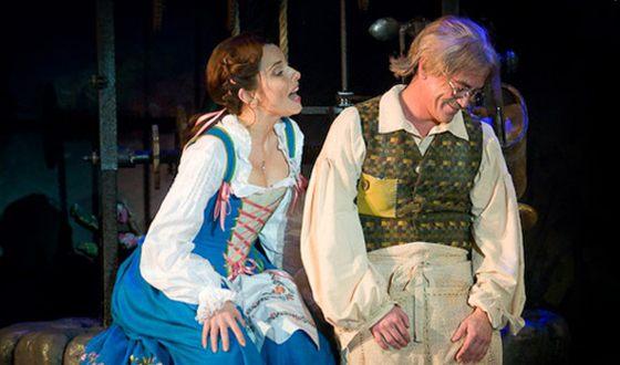 Екатерина Гусева в мюзикле «Красавица и чудовище»
