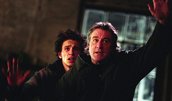 Джеймс Франко и Роберт Де Ниро в драме «Последнее дело Ламарки»