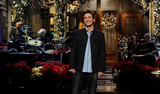 В сентябре 2008 года Джеймс Франко стал ведущим шоу Saturday Night Live
