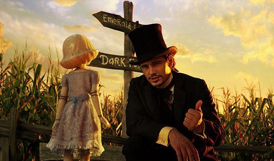 Джеймс Франко в картине «Оз: Великий и ужасный»