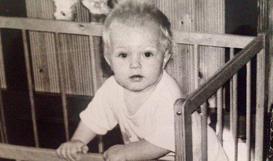 Кирилл Зайцев в детстве