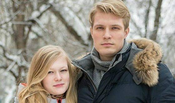 Кирилл Зайцев и его сестра
