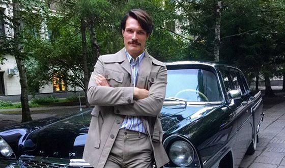 Кирилл Зайцев на съемках фильма «Движение вверх»