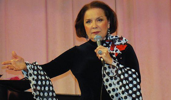 Лариса участвовала в престижном проекте Виктора Мережко «Поют звезды театра и кино»