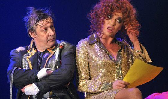 Ольга Дроздова и Михаил Ефремов в спектакле «Анархия»