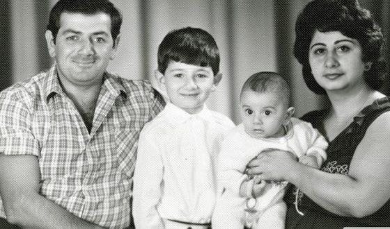 Семья Миши Галустяна