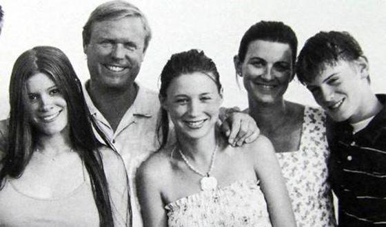 Кейт Мара и ее семья