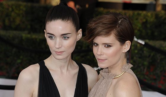 Кейт Мара и ее сестра Руни Мара