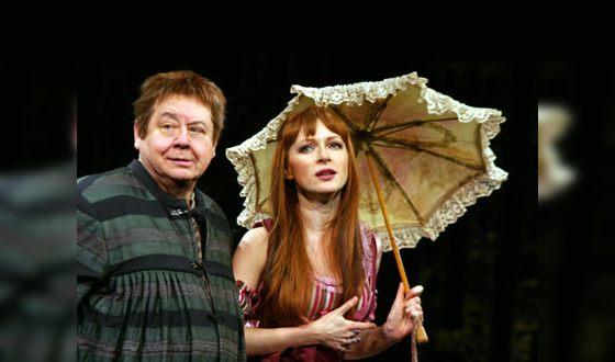 Наталья Рогожкина и Олег Табаков