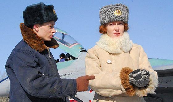 Наталья Рогожкина в сериале «Обнимая небо»