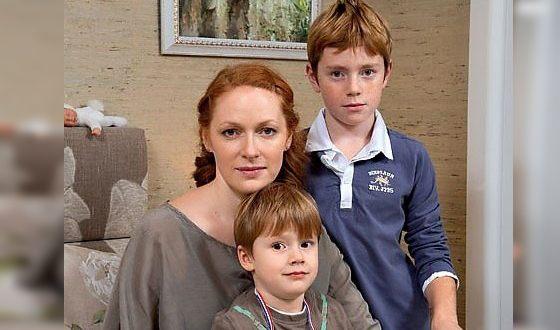 Наталья Рогожкина и ее дети