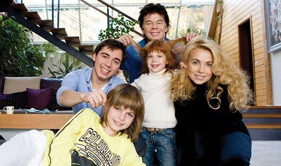 Марианна Газманова и ее семья