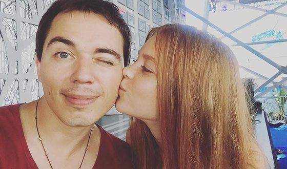Марианна Газманова и ее брат Родион
