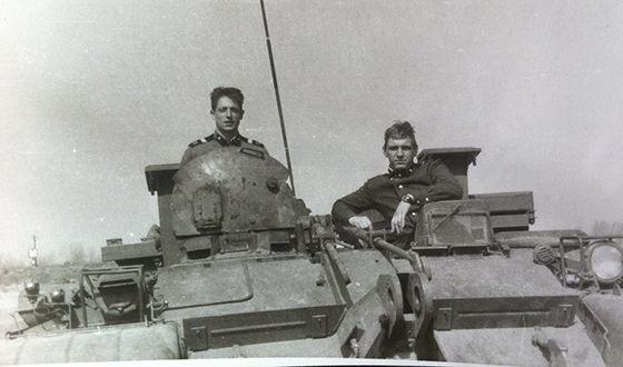 Дмитрий Фрид в армии