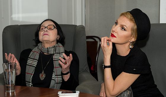 Кира Муратова и Рената Литвинова