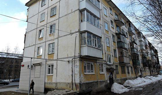 Дом, в котором какое-то время жил маленький Роман Абрамович